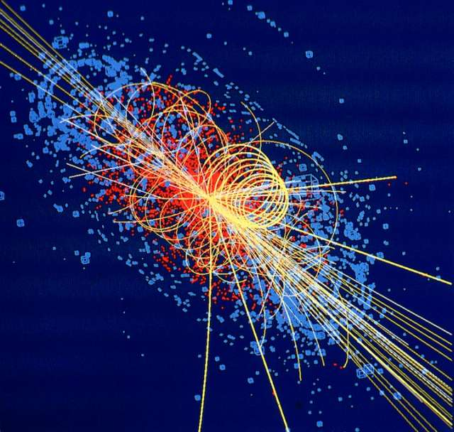 Collision of Protons