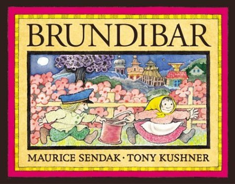 The cover of the children's book Brundibar