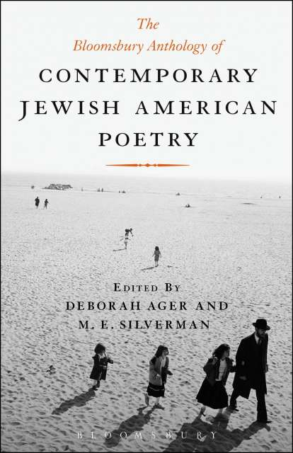 Cover of The Bloomsbury Anthology of Contemporary Jewish American Poetry.
