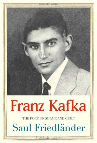 Book cover with Franz Kafka pictured.