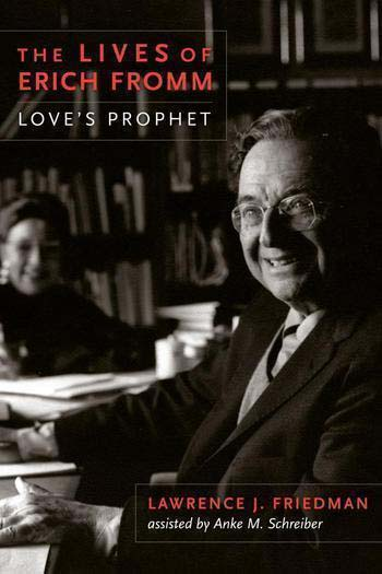 Book cover with Erich Fromm.
