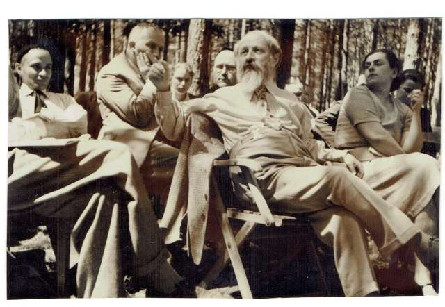 Martin Buber lecturing.