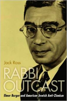 Book cover of 'Rabbi Outcast.'