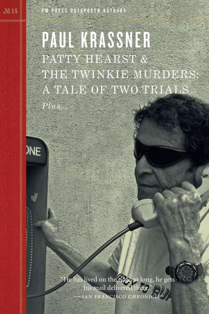 Paul Krassner speaking on a pay phone