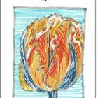 Parrot Tulip angel card for beauty