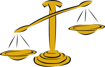 Clipart image of a scale
