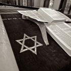 star of david next to the torah