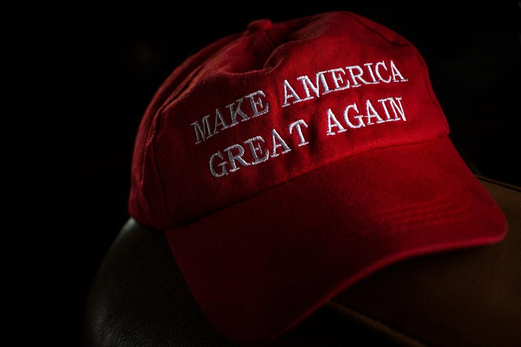 """Make America Great Again"" red hat"