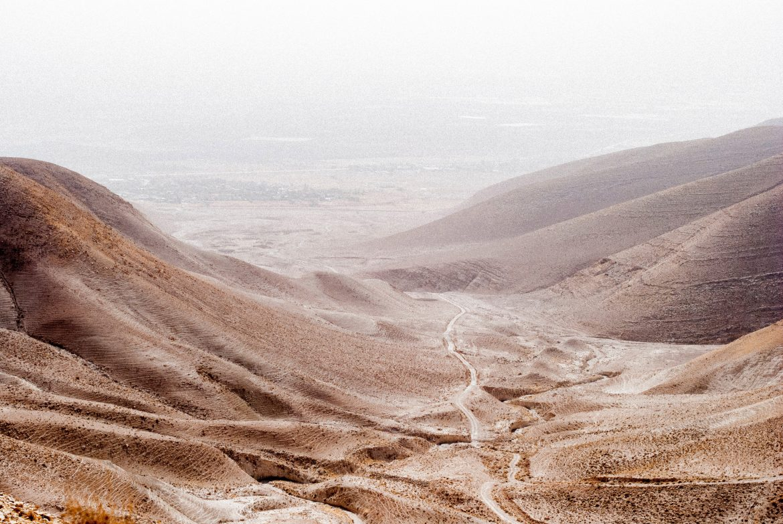 Image: Landscape and Desert around the Jordan Valley, Israel. Photo by Eddie Stigson.