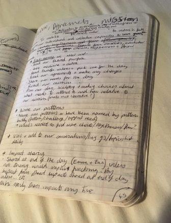 Emma's notebook