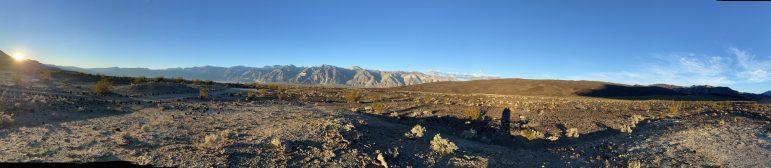 Panoramic View Saline Valley
