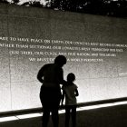 A twilight visit to the Martin Luther King Jr. Memorial
